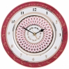 Wall Clock Red Net Lomonosov Imperial Porcelain