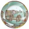 "Decorative Wall Plate White Night Fontanka riv. St.Petersburg 10.4""/265 mm Lomonosov Imperial Porcelain"
