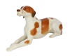 Red Pointer Dog Lomonosov Imperial Porcelain Figurine
