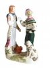 Meeting Figurine Lomonosov Imperial Porcelain
