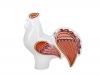 Lomonosov Porcelain Figurine Red Rooster