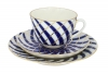 Lomonosov Imperial Porcelain Tea Cup Set 3pc Spring Todes 7.8 oz/230 ml