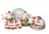 Lomonosov Imperial Porcelain Tea Set Byzantium 6/20