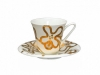 Russian Porcelain Bone China Tea Set Emilia Gold 7.3 fl.oz/200 ml