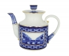 "Lomonosov Imperial Porcelain Teapot ""Bridges of Saint Petersburg"""