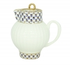 Lomonosov Imperial Porcelain Bone China Creamer Wave Cobalt Net 9 fl.oz /270 ml