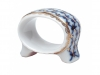 Lomonosov Imperial Porcelain Napkin ring Youth Cobalt Net