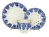 Lomonosov Imperial Porcelain Tea Set 3pc Radiant Basket 7.95 oz/235 ml