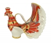 Lomonosov Imperial Porcelain Wine Decanter Red Firebird 27 fl.oz/800 ml