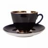 Lomonosov Porcelain Porcelain Tea Set Cup and Saucer Spring Night 7.8 oz/230 ml