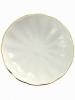 "Imperial Porcelain Porcelain Jam Dish Tulip Snow White 3.9"""