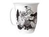 Lomonosov Bone China Porcelain Mug Opened Veterinarian 14.5 fl.oz/430 ml