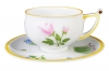Imperial Porcelain Porcelain Tea Set Cup and Saucer Kostroma Rose 10 oz/300 ml