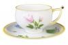 Imperial Porcelain Porcelain Tea Set Cup and Saucer Kostroma Rose 10 oz/300 ml
