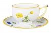 Porcelain Tea Set Cup and Saucer Kostroma Buttercup 10 oz/300 ml