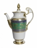 Lomonosov Imperial Porcelain Coffee Pot Alexandria Golden 52 21 fl.oz/620 ml