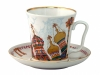 Porcelain Mug and Saucer Leningradskii Church of the Savior on the Spilled Blood 12.2 fl.oz/360 ml