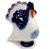 Lomonosov Imperial Porcelain Salt Pepper Shaker Cobalt Turkey
