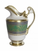 Lomonosov Imperial Porcelain Creamer Alexandria Golden 16.2 oz/480 ml