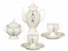 Easter Lomonosov Porcelain Bone China Coffee Set 8 pieces Classic-2