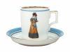 Porcelain Tea Cup 7.4 oz/220 ml Paris Style 1823 Lomonosov Imperial Factory