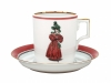 Porcelain Tea Cup 7.4 oz/220 ml Paris Style 1827 Lomonosov Imperial Factory