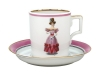 Porcelain Tea Cup 7.4 oz/220 ml Paris Style 1828 Lomonosov Imperial Factory