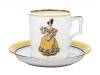 Porcelain Tea Cup 7.4 oz/220 ml Paris Style 1835 Lomonosov Imperial Factory
