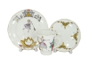 Lomonosov Imperial Porcelain Bone China Cup and Saucer May Ballet Cinderella (Prokofiev) 5.6 fl.oz/165 ml 3 pc