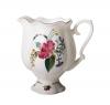 Porcelain Bone China Creamer Natasha Golden Ribbon 10.8 fl.oz/320 ml