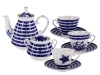 Lomonosov Porcelain Tea Set Sea Starfish
