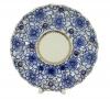 Lomonosov Porcelain Bindweed Cake Dish Platter
