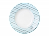 "Lomonosov Porcelain Soup Plate European Game 8.9""/225 mm"