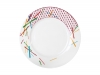 "Lomonosov Porcelain Dinner Flat Plate Game 10.4""/265 mm"