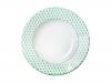 """Lomonosov Porcelain Soup Plate European Flowers 8.9""""/225 mm"""