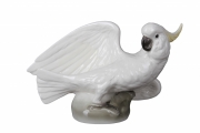Сockatoo Bird Lomonosov Imperial Porcelain Figurine