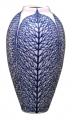 Flower Vase Lily Lace Leaf Lomonosov Imperial Porcelain