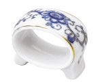 Lomonosov Imperial Porcelain Napkin Ring Youth Singing Garden