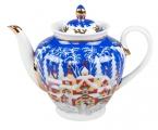 Lomonosov Porcelain Teapot Spring Winter Fairytale 27 oz/800 ml
