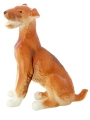 Airedale Terrier Lomonosov Imperial Porcelain Figurine