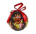 Christmas New Year Tree Decorative Ball Zhostovo