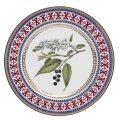 "Decorative Wall Plate Bird-Cherry Tree 10.6""/270 mm Lomonosov Imperial Porcelain"