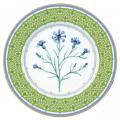 "Decorative Wall Plate Blue Cornflower 10.6""/270 mm Lomonosov Imperial Porcelain"