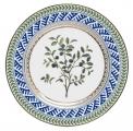 "Decorative Wall Plate Blueberry 10.6""/270 mm Lomonosov Imperial Porcelain"