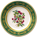 "Decorative Wall Plate 10.4""/265 mm Foxberry Lomonosov Imperial Porcelain"
