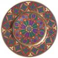 "Decorative Wall Plate Mazarin Gothic #9 10.4""/265 mm Lomonosov Imperial Porcelain"
