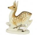 Deer Doe Lomonosov Imperial Porcelain Figurine