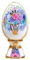 Easter Egg on Stand Bouquet Lomonosov Imperial Porcelain
