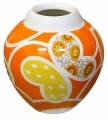 Flower Vase Bud Motive Lomonosov Imperial Porcelain
