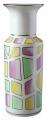 Flower Vase Cylinder Style Bright Design Lomonosov Imperial Porcelain